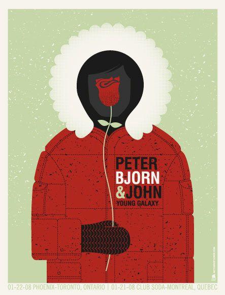 Peter Bjorn & John by Matt Leunig