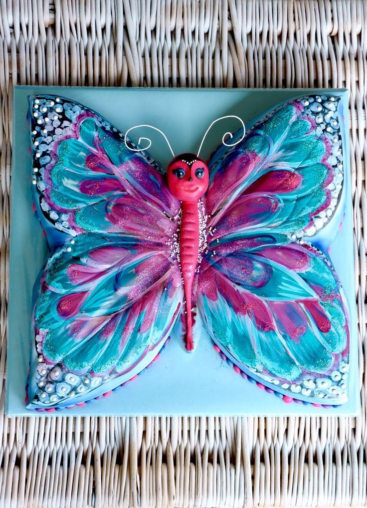 17 besten Schmetterlings Kuchen Bilder auf Pinterest