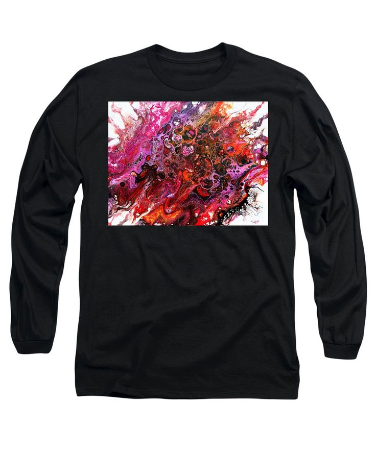 Purchase a long-sleeve t-shirt featuring the image of #805 A Color Blast by Expressionistart studio Priscilla Batzell.  Available in sizes S - XXL.  Each t-shirt is printed on-demand, ships within 1 - 2 business days, and comes with a 30-day money-back guarantee.