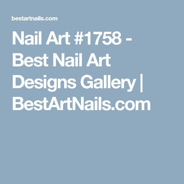 Nail Art #1758 - Best Nail Art Designs Gallery | BestArtNails.com