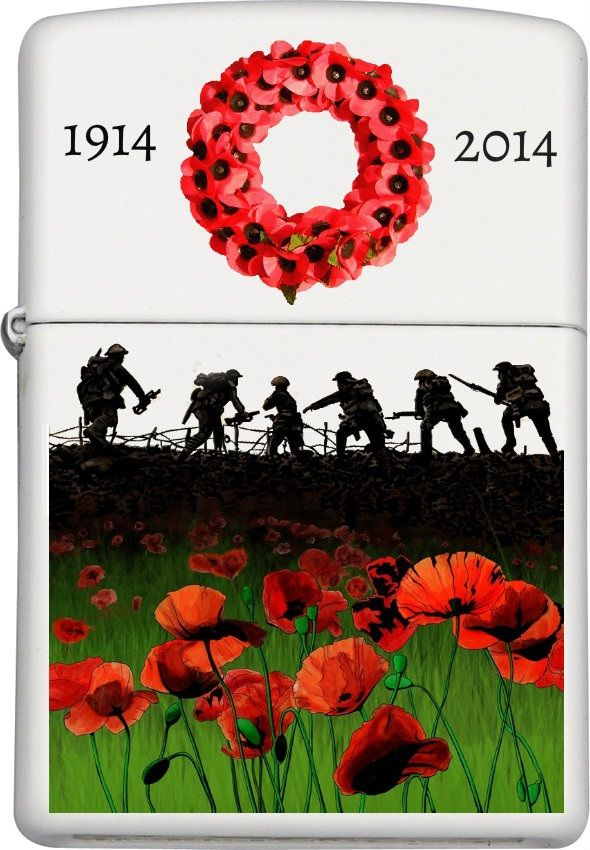 We Will Remember Them Custom Zippo Design
