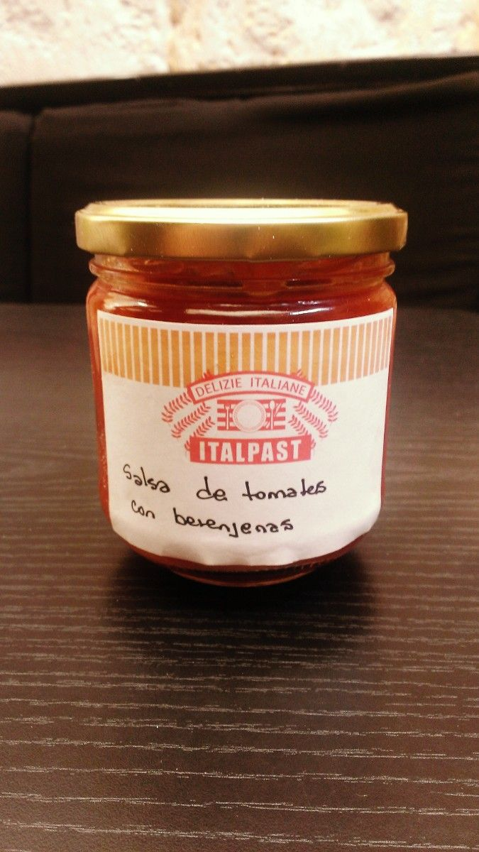 Salsa de tomates y berenjenas