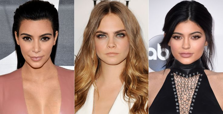 These Are the 15 Most-Googled Celebrity Eyebrows Around the World from InStyle.com