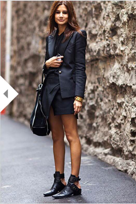 Rue Mag Trends flat ankle boots