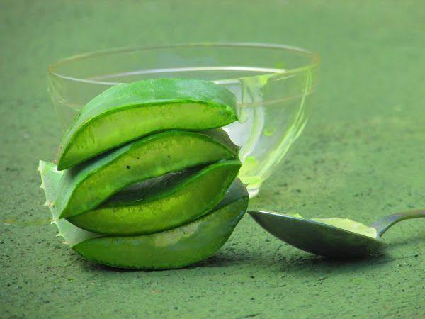 DIY. Mascarillas antiarrugas de Aloe vera