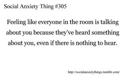 Social Anxiety Thing #305