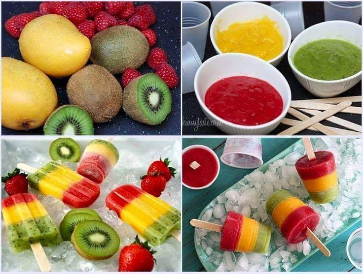 Kolay Meyveli Dondurma Yapımı
