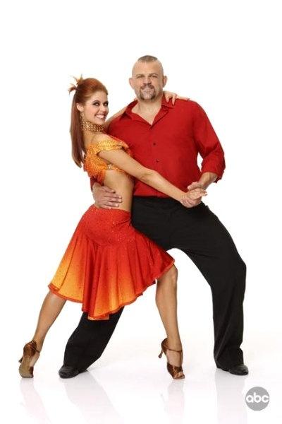 Chuck Liddell & Anna Trebunskaya - Season 9 - Dancing with the Stars