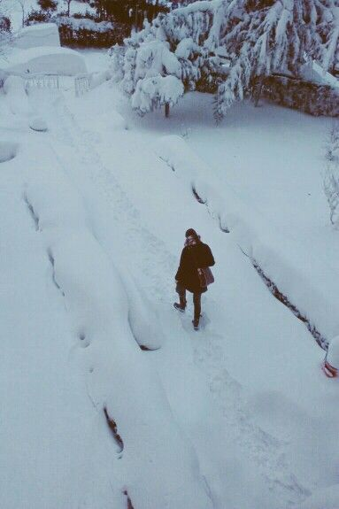 Let it snow again and again and again and again...