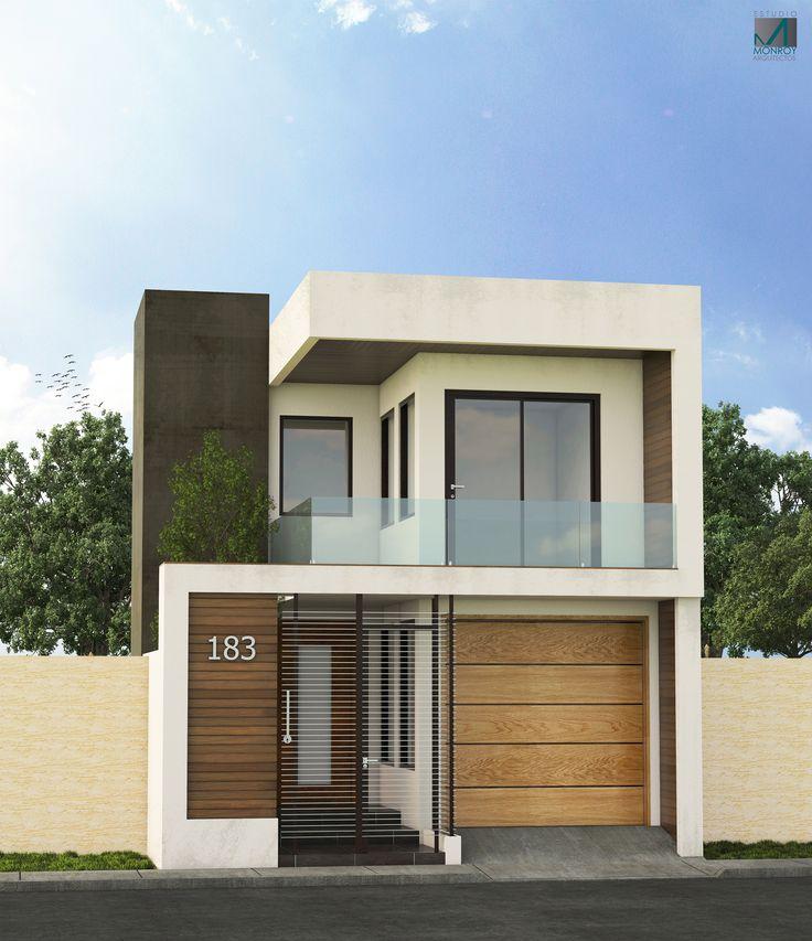 Remodelación Fachada Contemporánea Propuesta #1 #Arquitecturacontemporane #Arquitecturamoderna #Remodelación