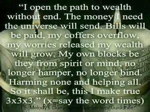 Wealth chant
