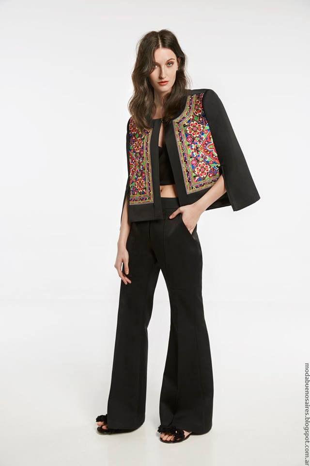 Chaquetas de moda mujer primavera verano 2017 María Cher. Pantalones de vestir…