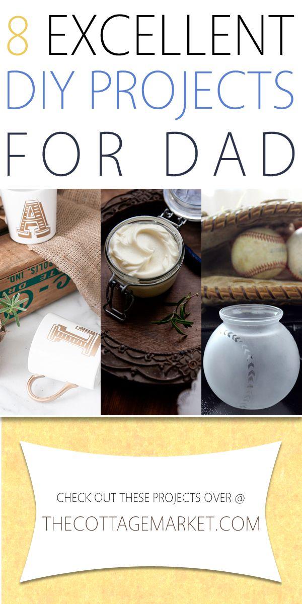 8 Excellent DIY Gifts for Dad - The Cottage Market