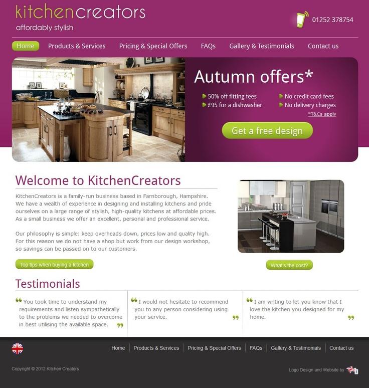 kitchen design and creation website httpwwwkitchencreatorscouk