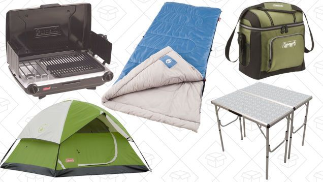 Get Out of Town With This Coleman Camping Gear Sale