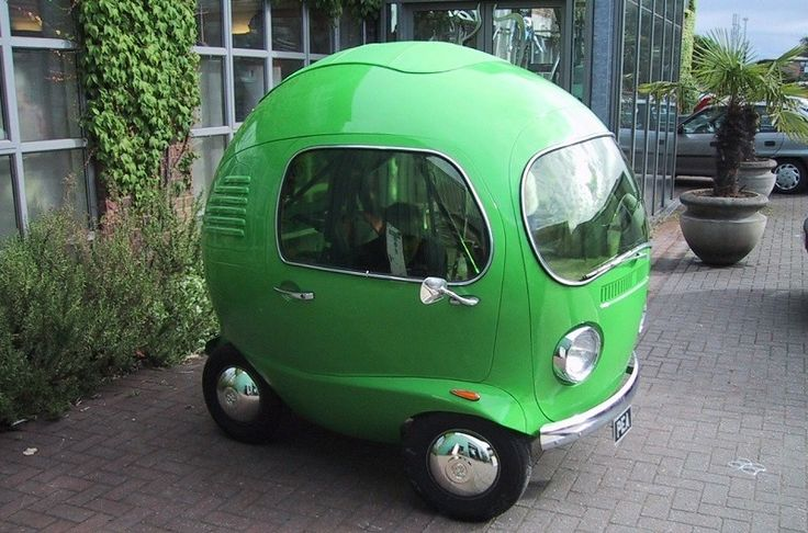 #Weird #Cars Pea Car