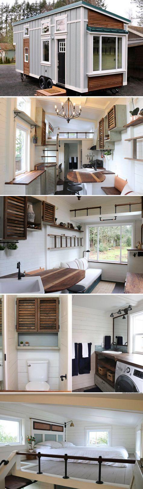 Tiny Getaway by Handcrafted Movement Ideen für dein Tiny Haus ,Tiny Home und Mini Haus. Tiny House Bauen und einrichten. Ob stationär oder fahrbar. – Barbara