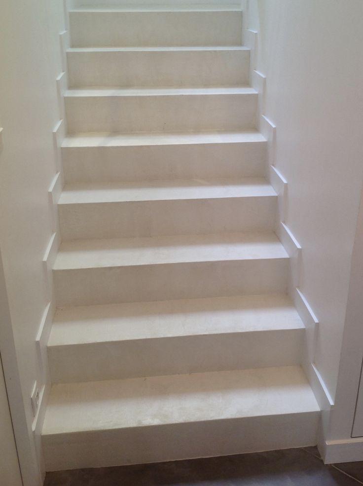 B.CC - Escalier en béton ciré  (couleur Voile/MA's)