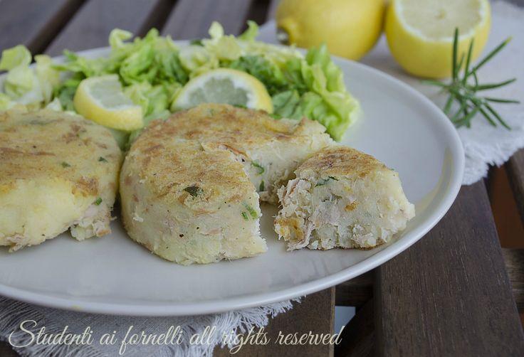 ricetta schiacciatine tonno e patate hamburger freddi o calde ricetta secondo estivo