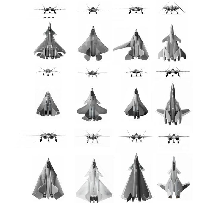 jet fighters 6th gen by chaseblood