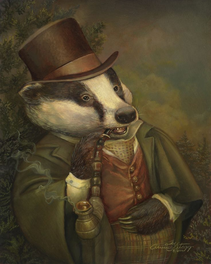 BANCROFT THE BADGER BY ANNIE STEGG