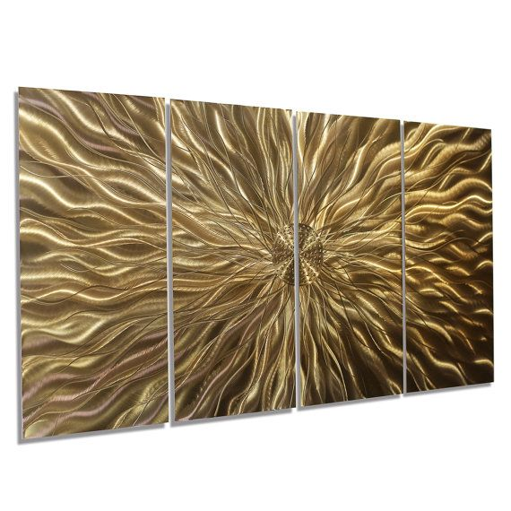 Copper Metal Wall Art  Contemporary Painted by JonAllenMetalArt
