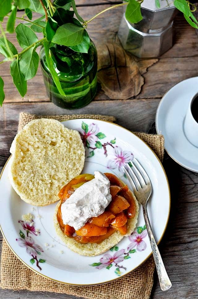 Apricots + Browned Butter Apricot Shortcakes with Cinnamon Whipped ...