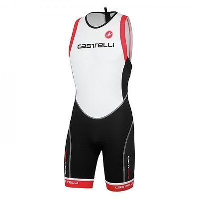 #Castelli free tri itu suit onesie #8613027 #triathlon works white/black/red,  View more on the LINK: http://www.zeppy.io/product/gb/2/191918495166/