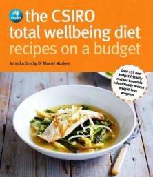 The Csiro Total Wellbeing Diet - Recipes On A Budget: http://www.bookworld.com.au/book/the-csiro-total-wellbeing-diet-recipes-on-a-budget/39407858/