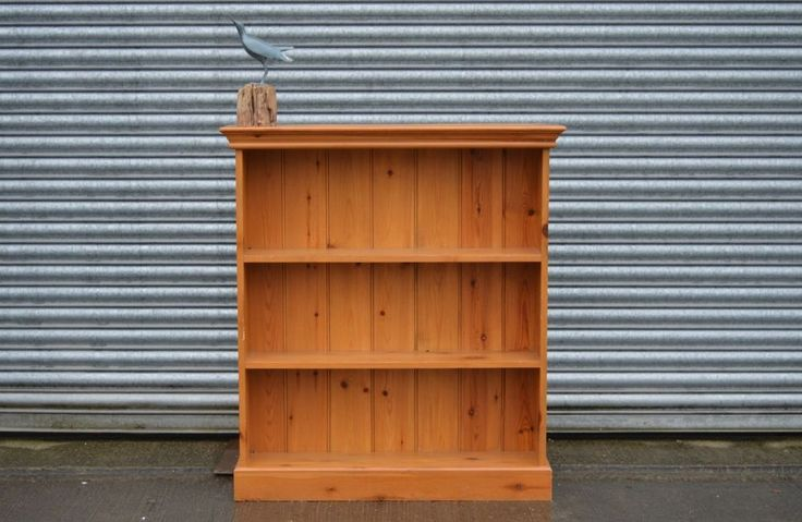Solid Pine Bookcase Shelving Small.