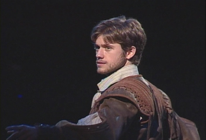 Aaron Tveit - Three Musketeers -- hELLO YES IM INTERESTED IN BECOMING A MUSKETEER