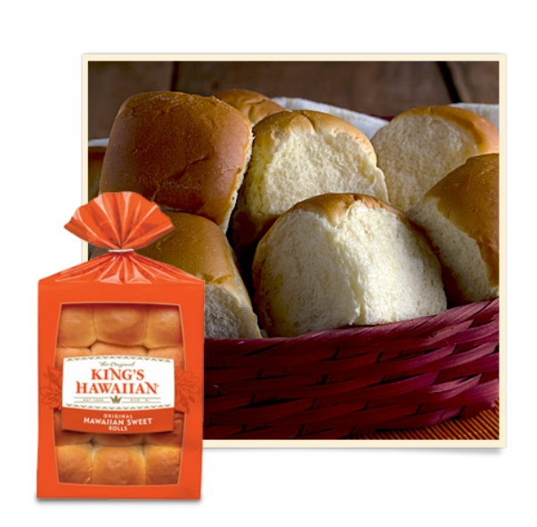 King's Hawaiian Sweet Dinner Rolls (my favorite)