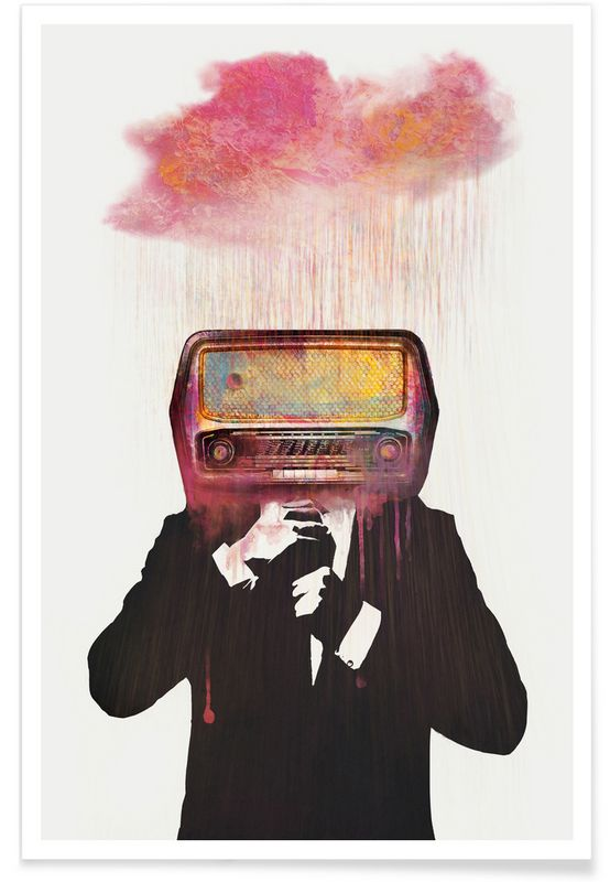 Radiohead as Premium Poster by Dániel Taylor | JUNIQE