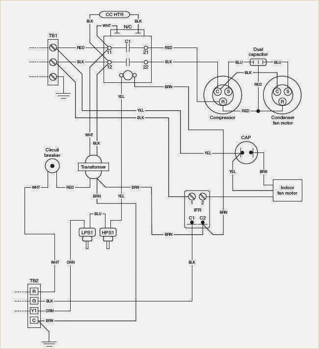 Electrical Wiring Diagrams For Air Conditioning Systems Part E Electrical Wiring Diagram Hvac System Hvac