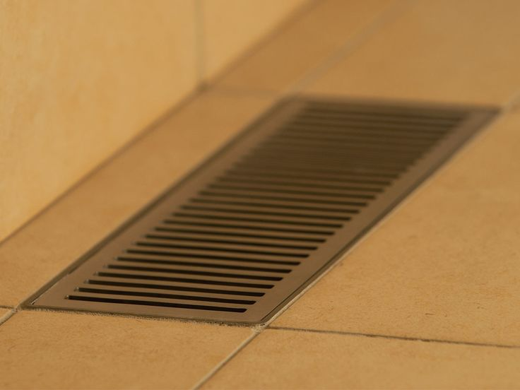 Shower channel grate