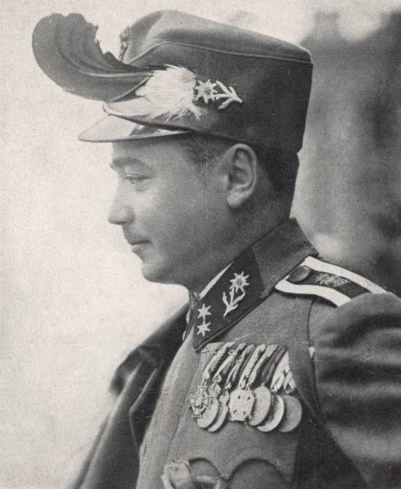 Bundeskanzler Dollfuß als Kaiserjäger