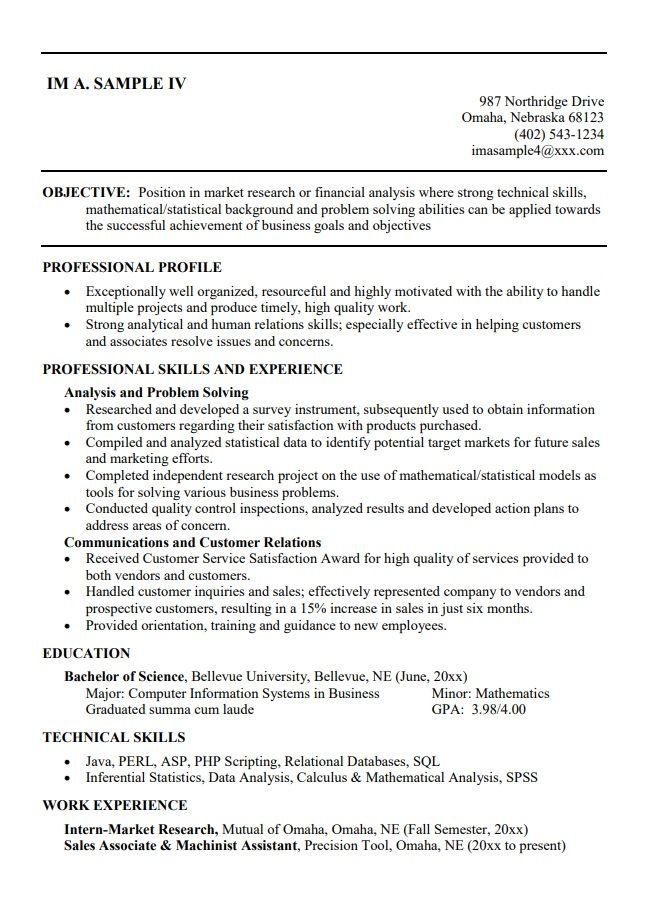 College Student Resume Templates 10+ Free Printable Word
