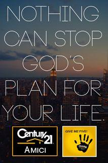 Century 21 AMICI: Nada Puede Detener Los Planes De Dios