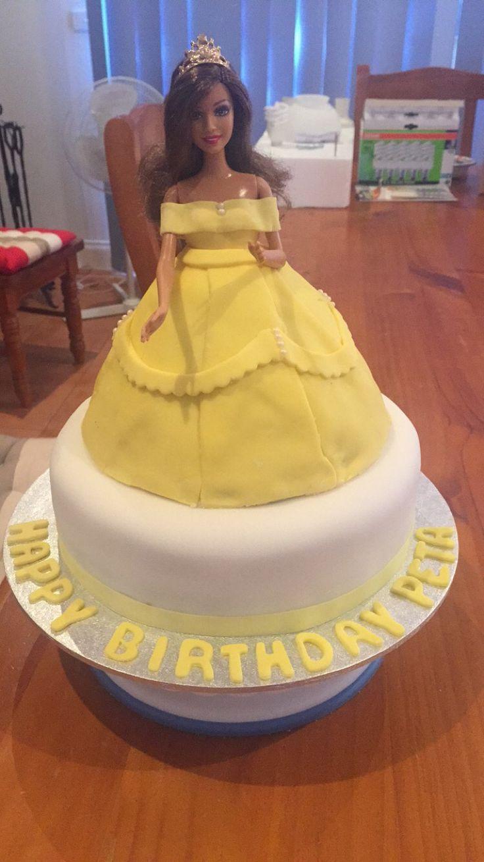 Belle Dolly Varden cake ❤️