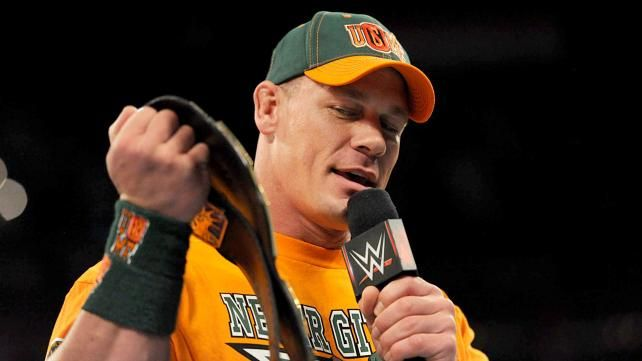 John Cena vs. Xavier Woods – United States Championship Match: photos | WWE.com