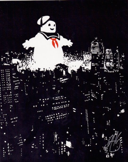 """""""Staypuft"""" by Dennis Hansbury, 8X10 print, signed"""