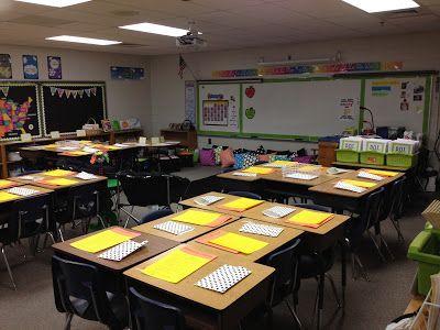 Elementary Teacher Desk