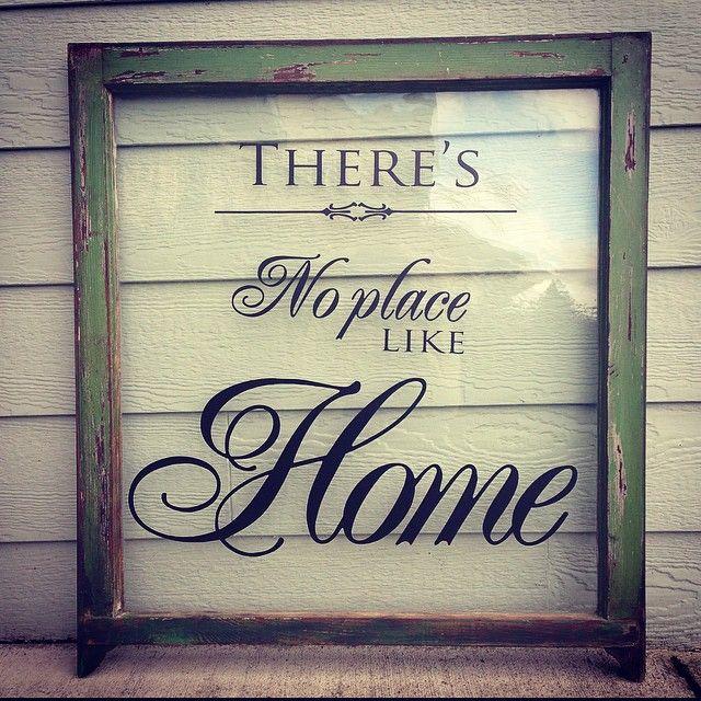 Vintage window project with vinyl letters  #restlessandrefurbished