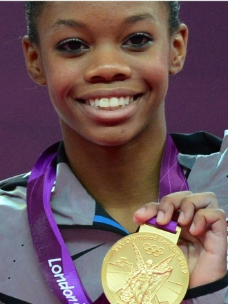 Making History! First African-American Gold Medalist Gymnast.- Gabby Douglas Takes Home Gold in Women's All Around Gymnastics at the London Olympics 2012.