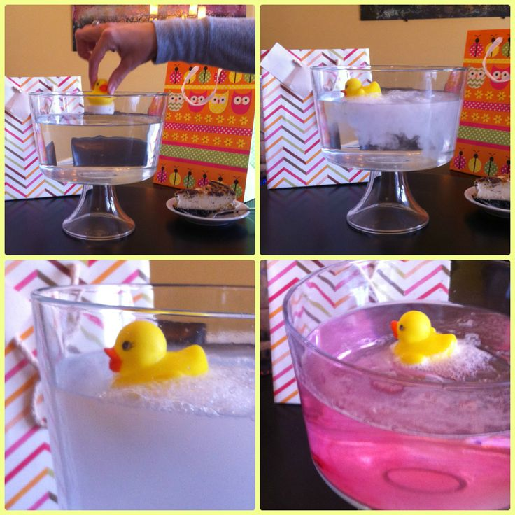Rubber Ducky Gender Reveal Party Waddle It Be Water