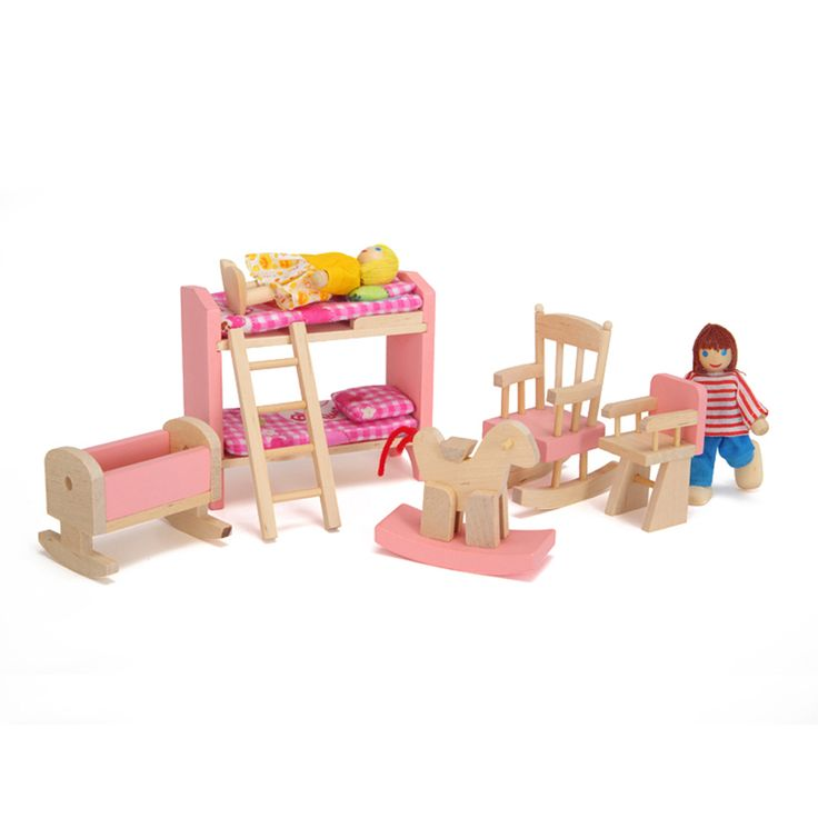 532 best images about miniaturas on pinterest miniature Wooden baby doll furniture