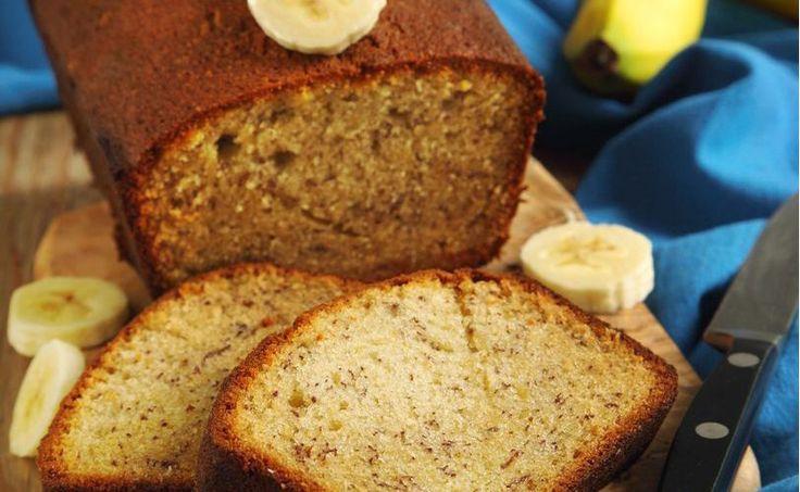 Ψωμί μπανάνας… ή κέικ μπανάνας