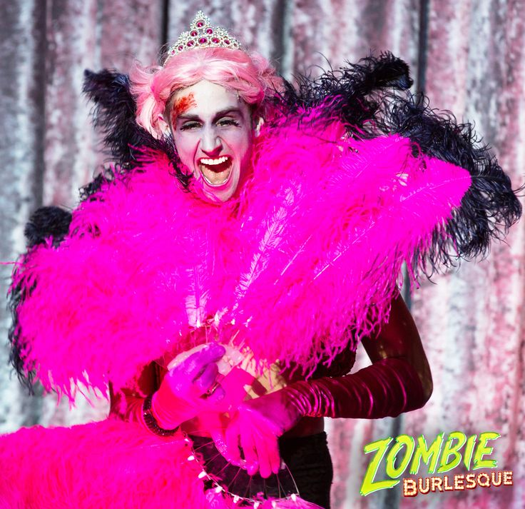 That face you make when you find a shade of #pink that goes perfectly with your #undead skin tone!   #BadMikey #Werk #ZombieSlay