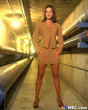Miss Parker - The Pretender Always thought it was funny she shared the same name with her character - Andrea Parker