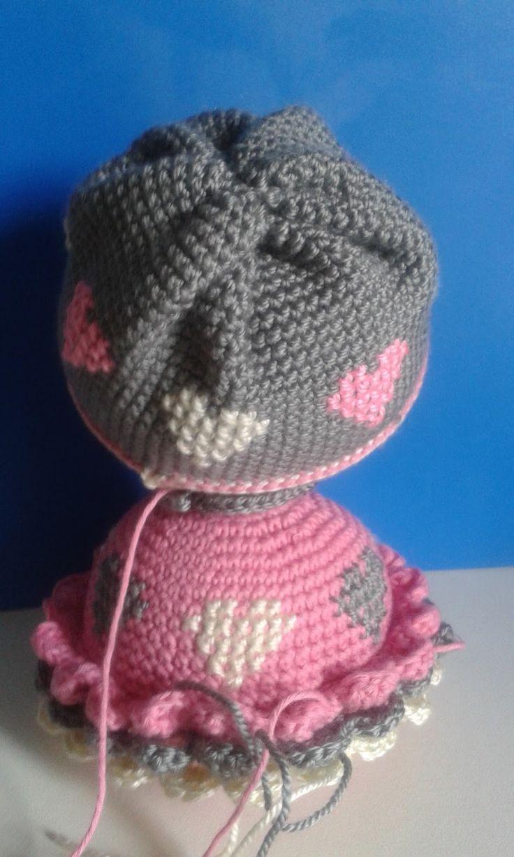 Mejores 72 imágenes de Patrones al crochet en Pinterest | Vestidos ...